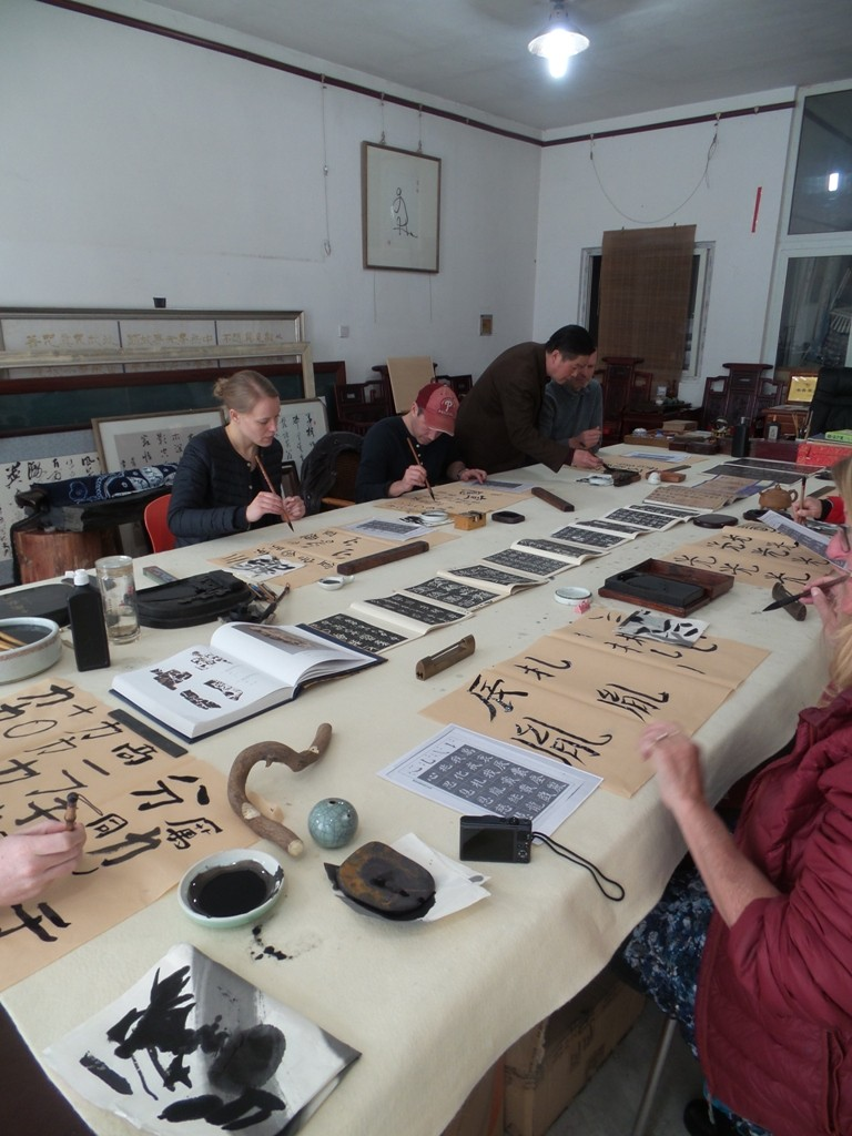 Cultural Keys' Chinese Calligraphy Workshop #17