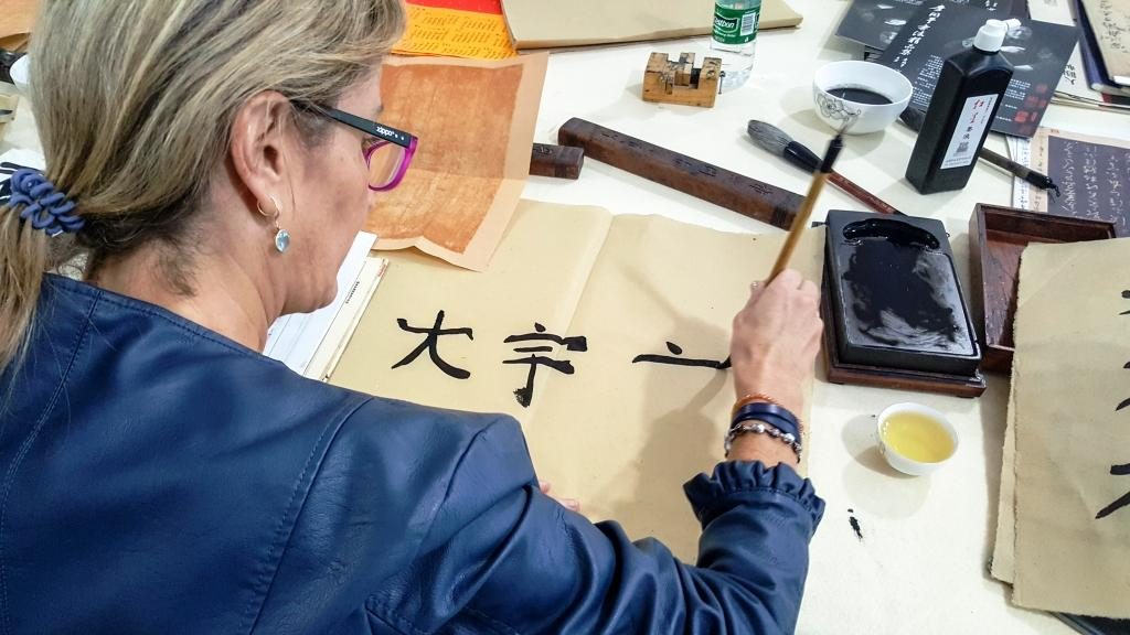 Cultural Keys' Chinese Calligraphy Workshop #3