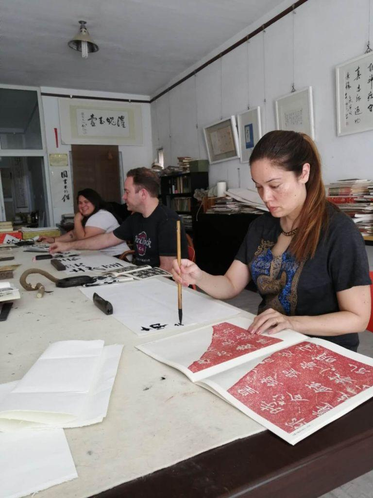 Cultural Keys' Chinese Calligraphy Workshop #33