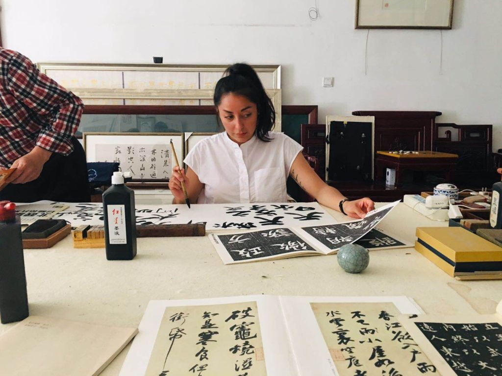 Cultural Keys' Chinese Calligraphy Workshop #35