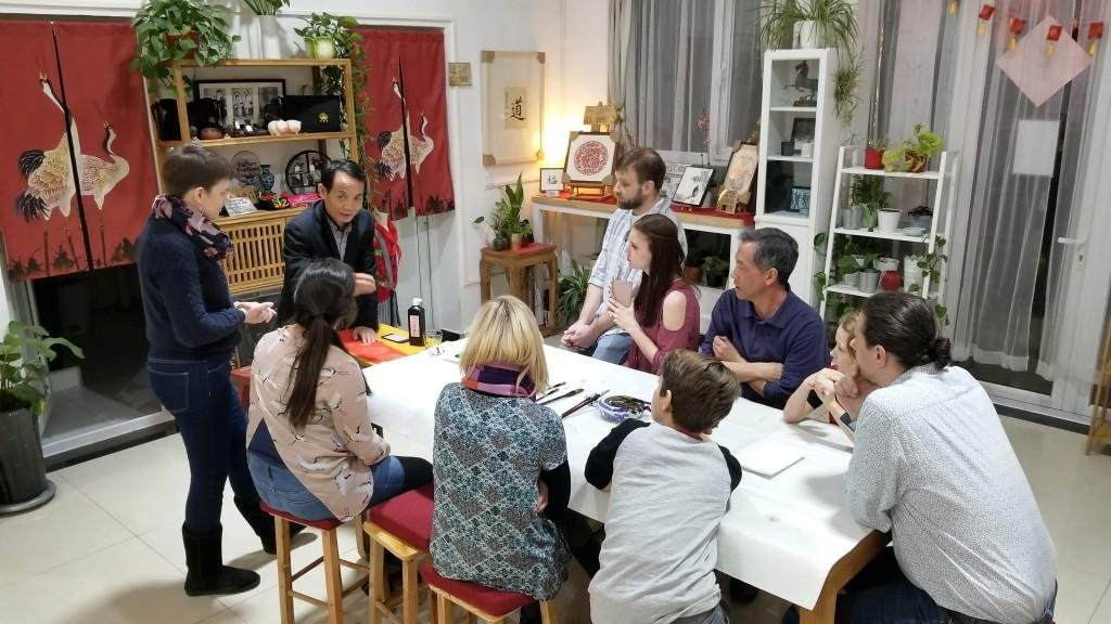 Cultural Keys' Chinese Calligraphy Workshop 7