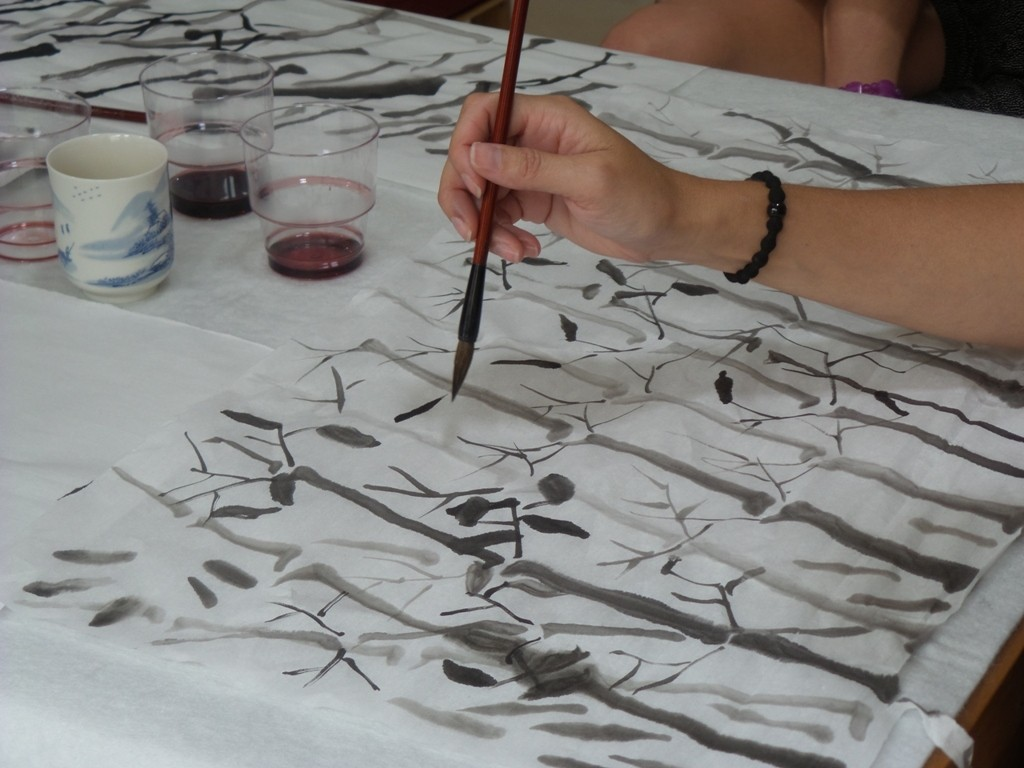 Cultural Keys' Chinese Painting  Workshops #12