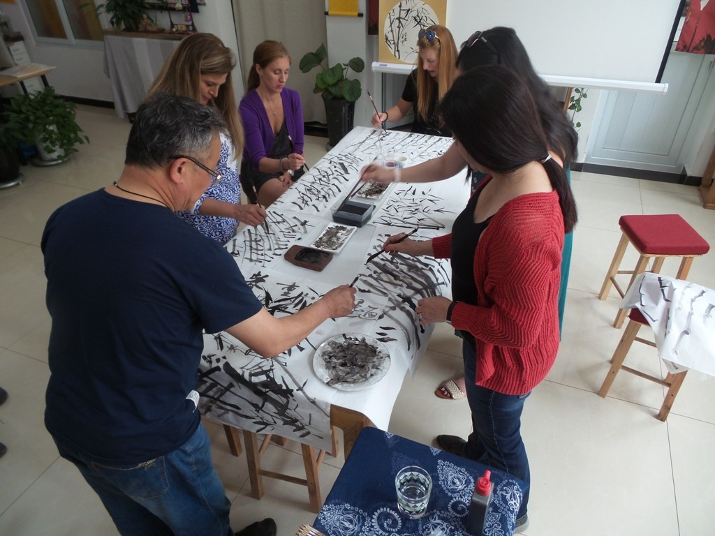 Cultural Keys' Chinese Painting  Workshops #14