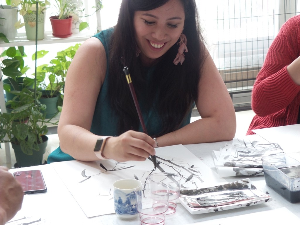 Cultural Keys' Chinese Painting  Workshops #15
