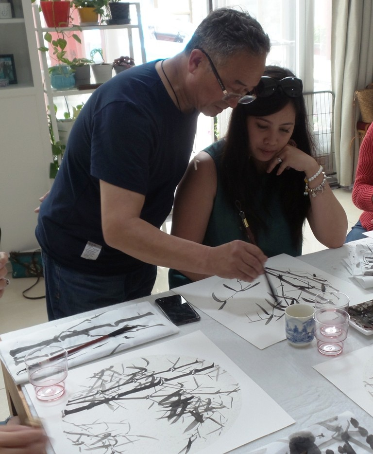 Cultural Keys' Chinese Painting  Workshops #16