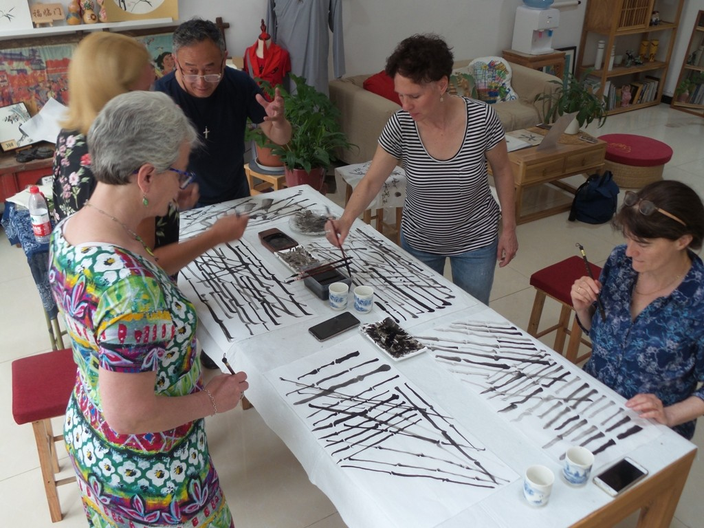 Cultural Keys' Chinese Painting  Workshops #20