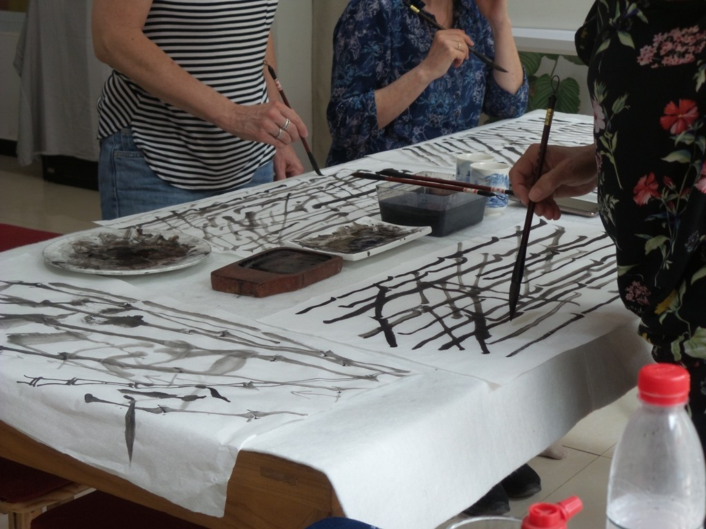 Cultural Keys' Chinese Painting  Workshops #22