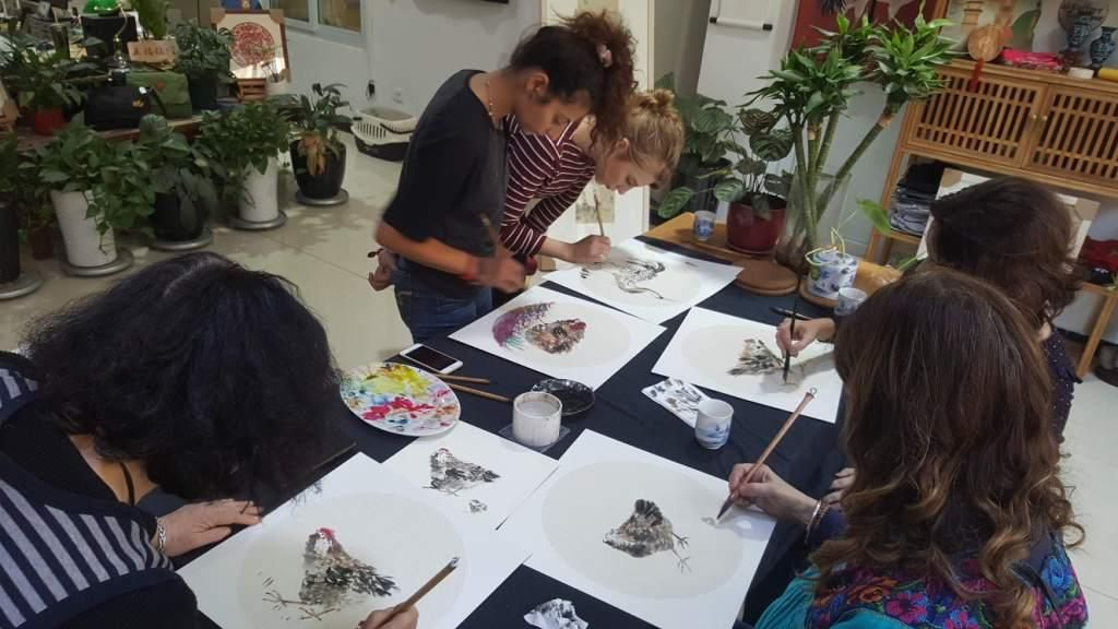 Cultural Keys' Chinese Painting  Workshops #2