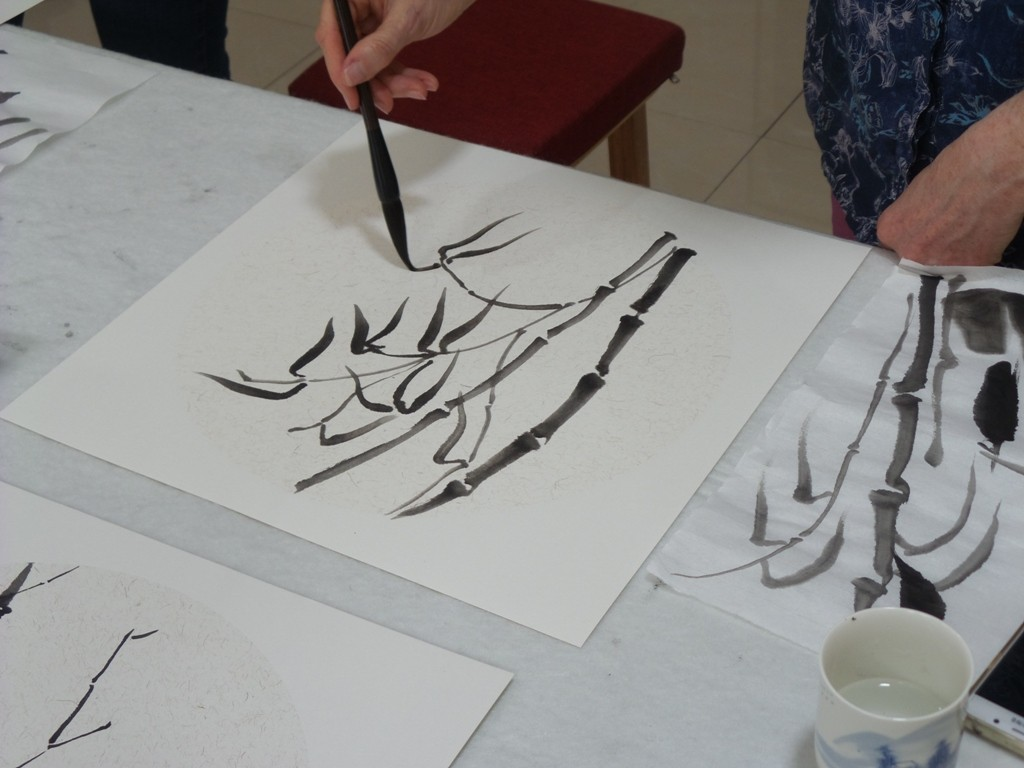 Cultural Keys' Chinese Painting  Workshops #26