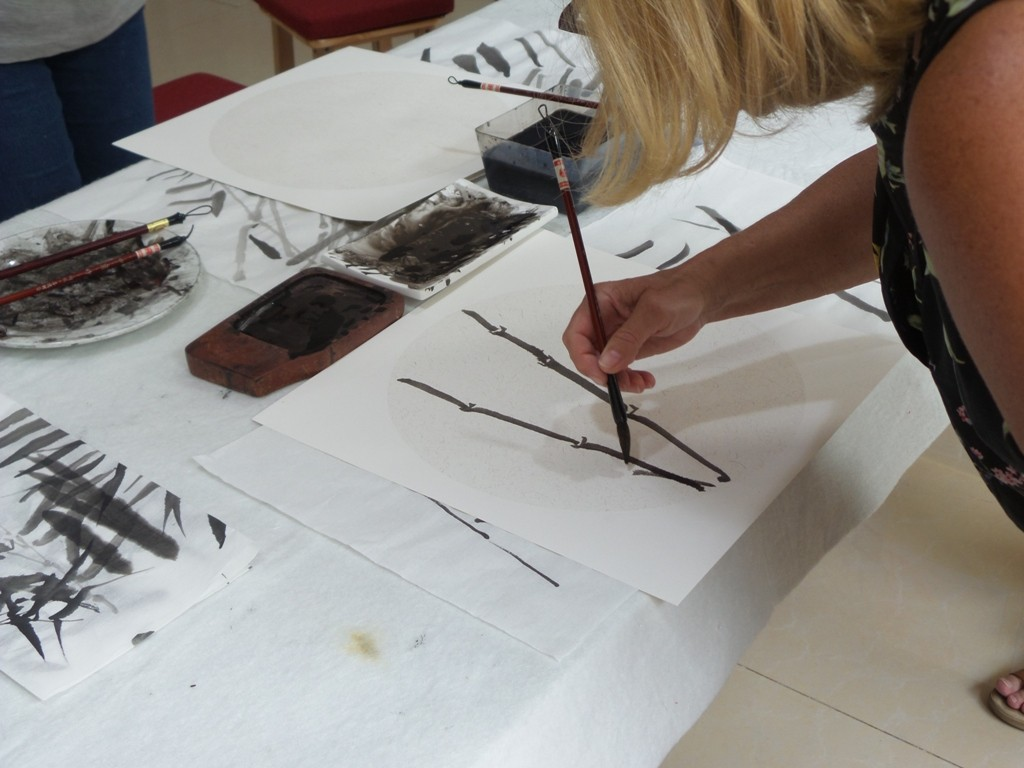 Cultural Keys' Chinese Painting  Workshops #27