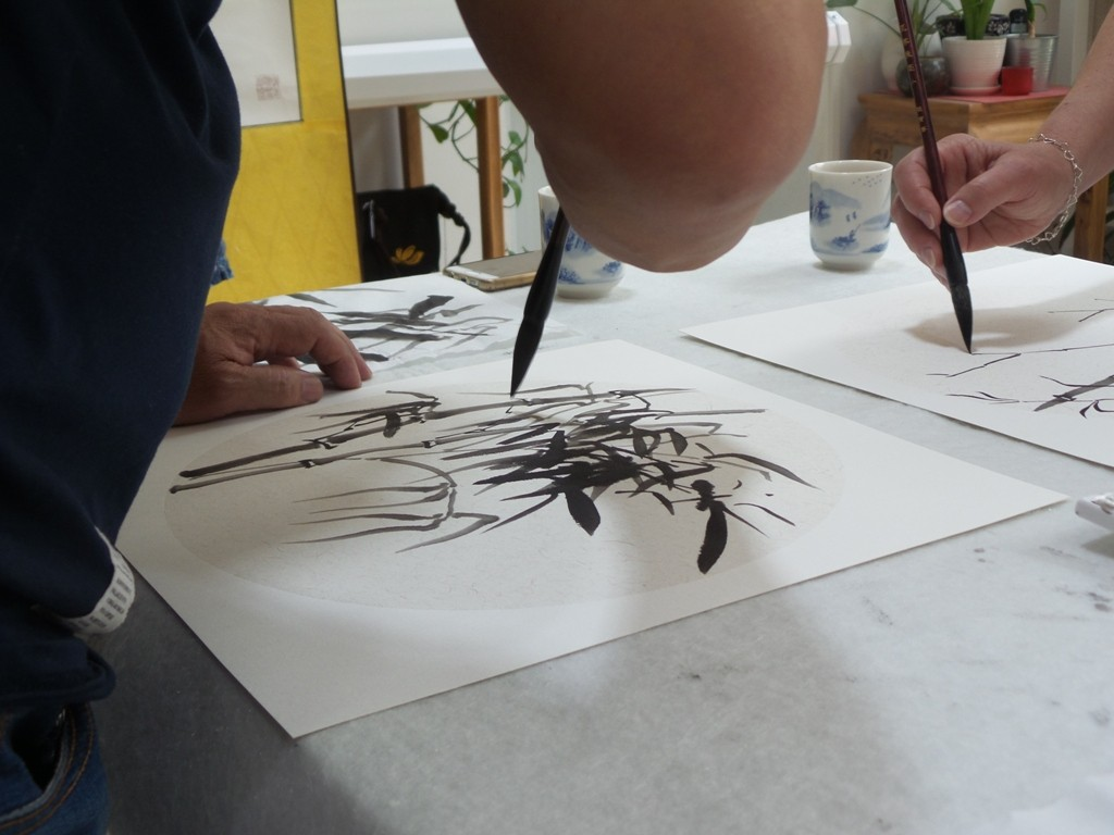 Cultural Keys' Chinese Painting  Workshops #28