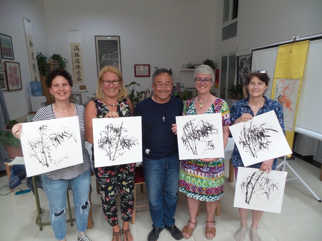Cultural Keys' Chinese Painting  Workshops #29