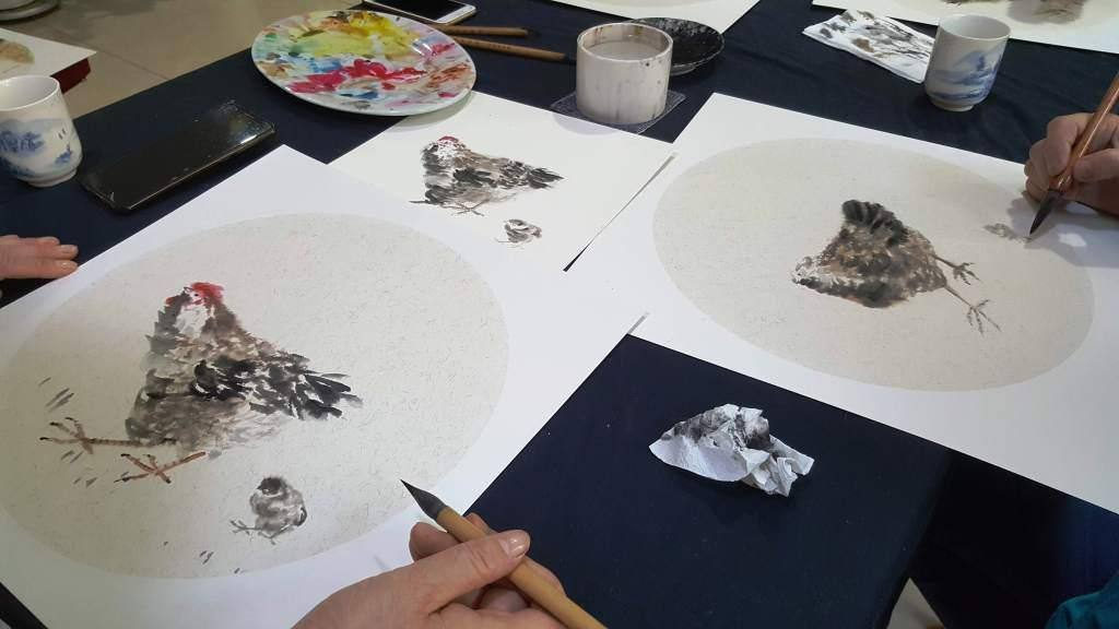 Cultural Keys' Chinese Painting  Workshops #4