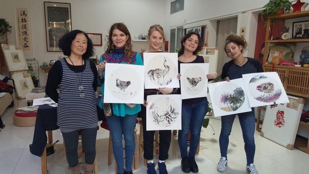 Cultural Keys' Chinese Painting  Workshops #5
