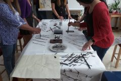Cultural Keys' Chinese Painting  Workshops #7
