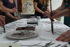 Cultural Keys' Chinese Painting  Workshops #8