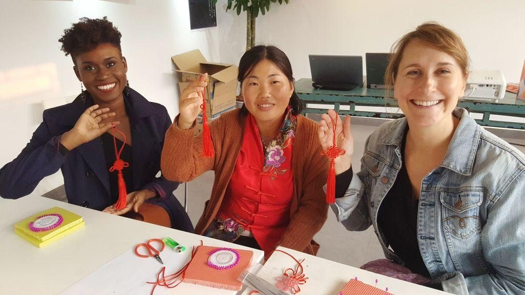 Cultural Keys' Chinese Knotting Workshop #10