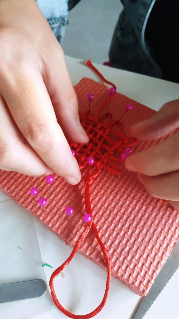 Cultural Keys' Chinese Knotting Workshop #7