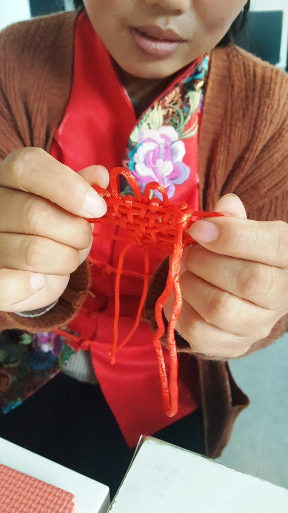 Cultural Keys' Chinese Knotting Workshop #8