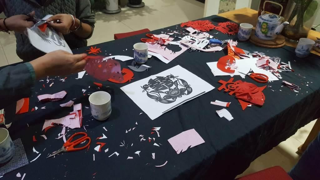 Cultural Keys' Chinese Papercutting Workshop #1