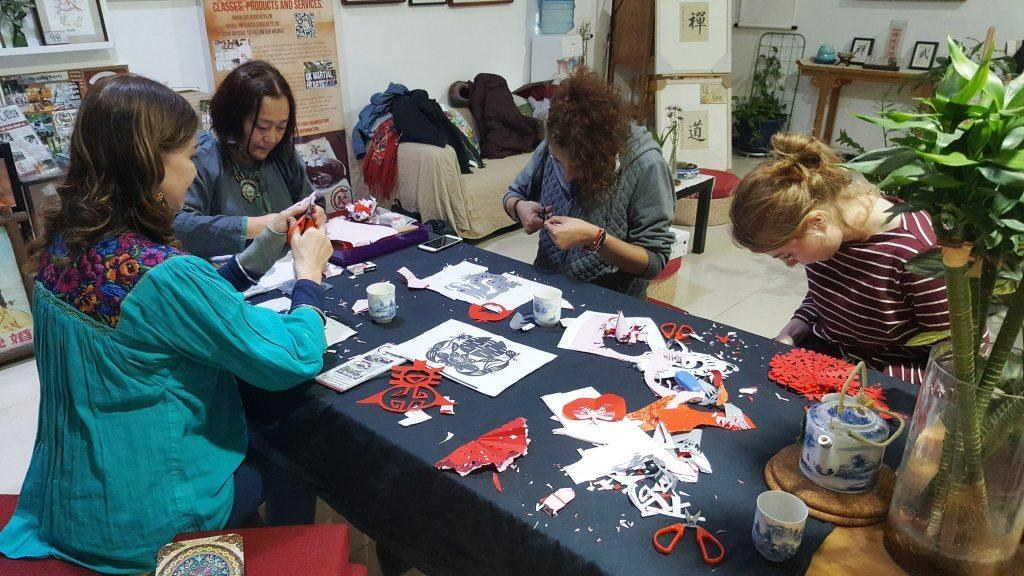 Cultural Keys' Chinese Papercutting Workshop #2