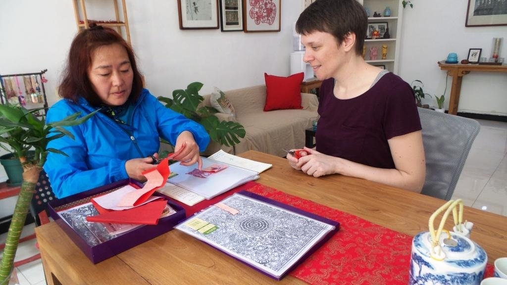 Cultural Keys' Chinese Papercutting Workshop #5