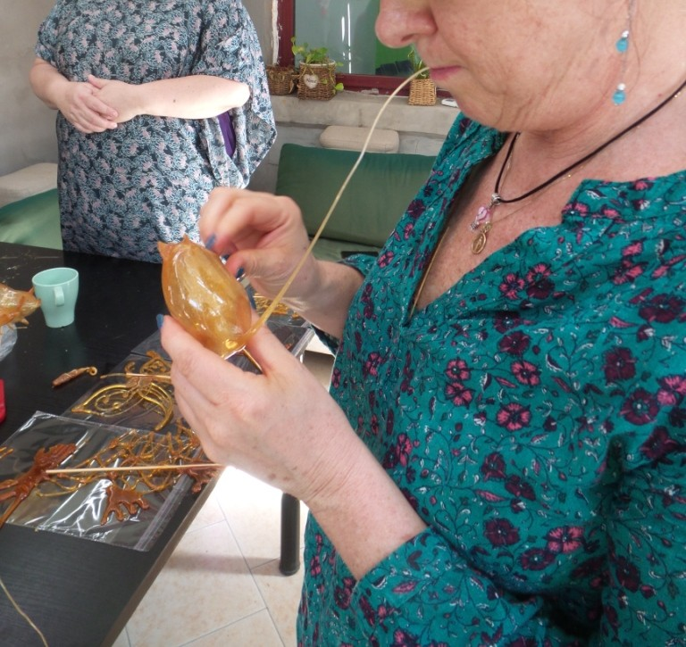 Cultural Keys' Chinese Sugar Art Workshop #15