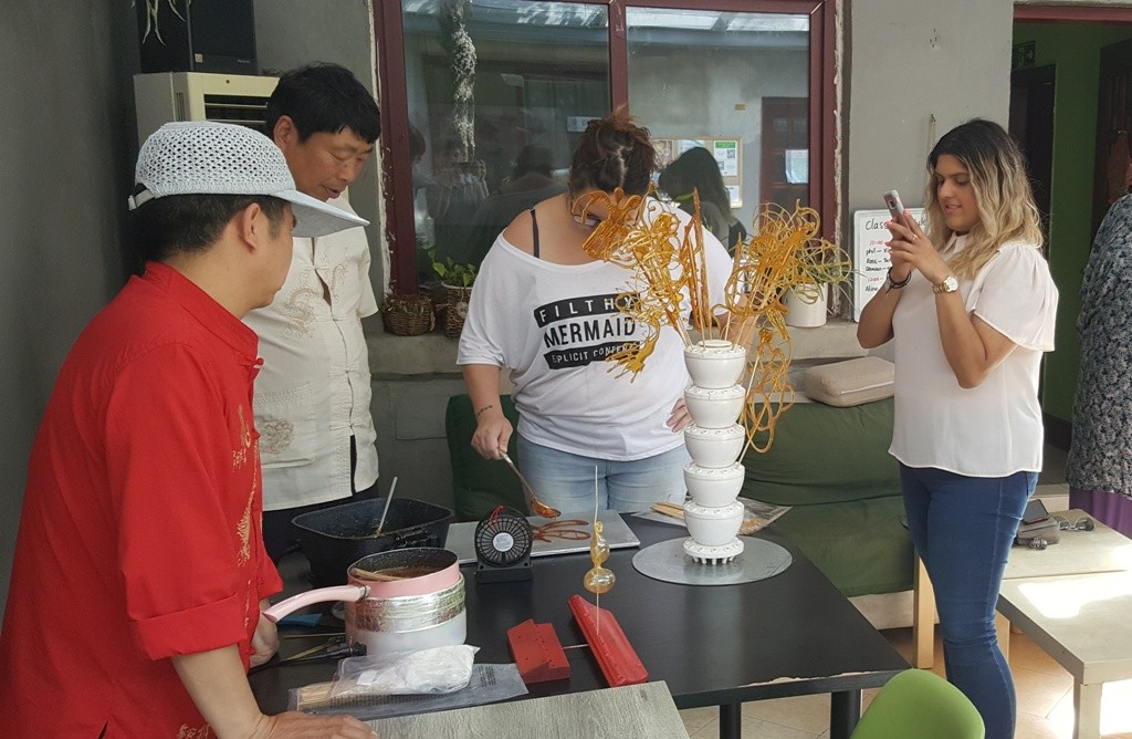 Cultural Keys' Chinese Sugar Art Workshop #5