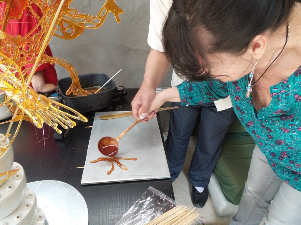 Cultural Keys' Chinese Sugar Art Workshop #7