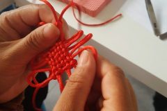 Cultural Keys' Chinese Knotting Workshop #9