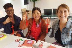 Cultural Keys' Chinese Knotting Workshop #10