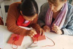 Cultural Keys' Chinese Knotting Workshop #4